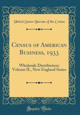 Census of American Business, 1933