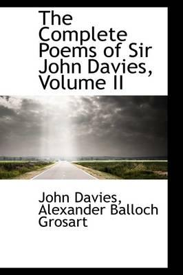 The Complete Poems of Sir John Davies,