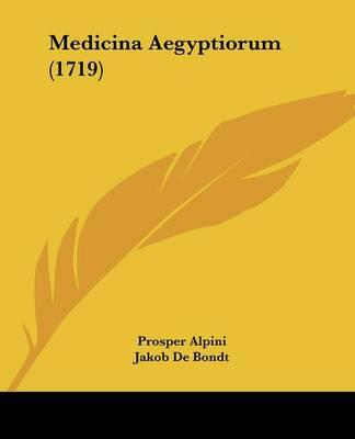 Medicina Aegyptiorum (1719)
