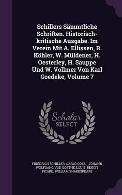 Schillers Sammtliche...