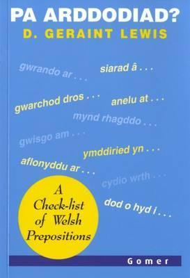 Pa Arddodiad? - A Check-list of Verbal Prepositions