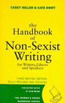 The Handbook of Non-sexist Writing
