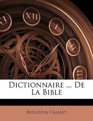 Dictionnaire ... de ...
