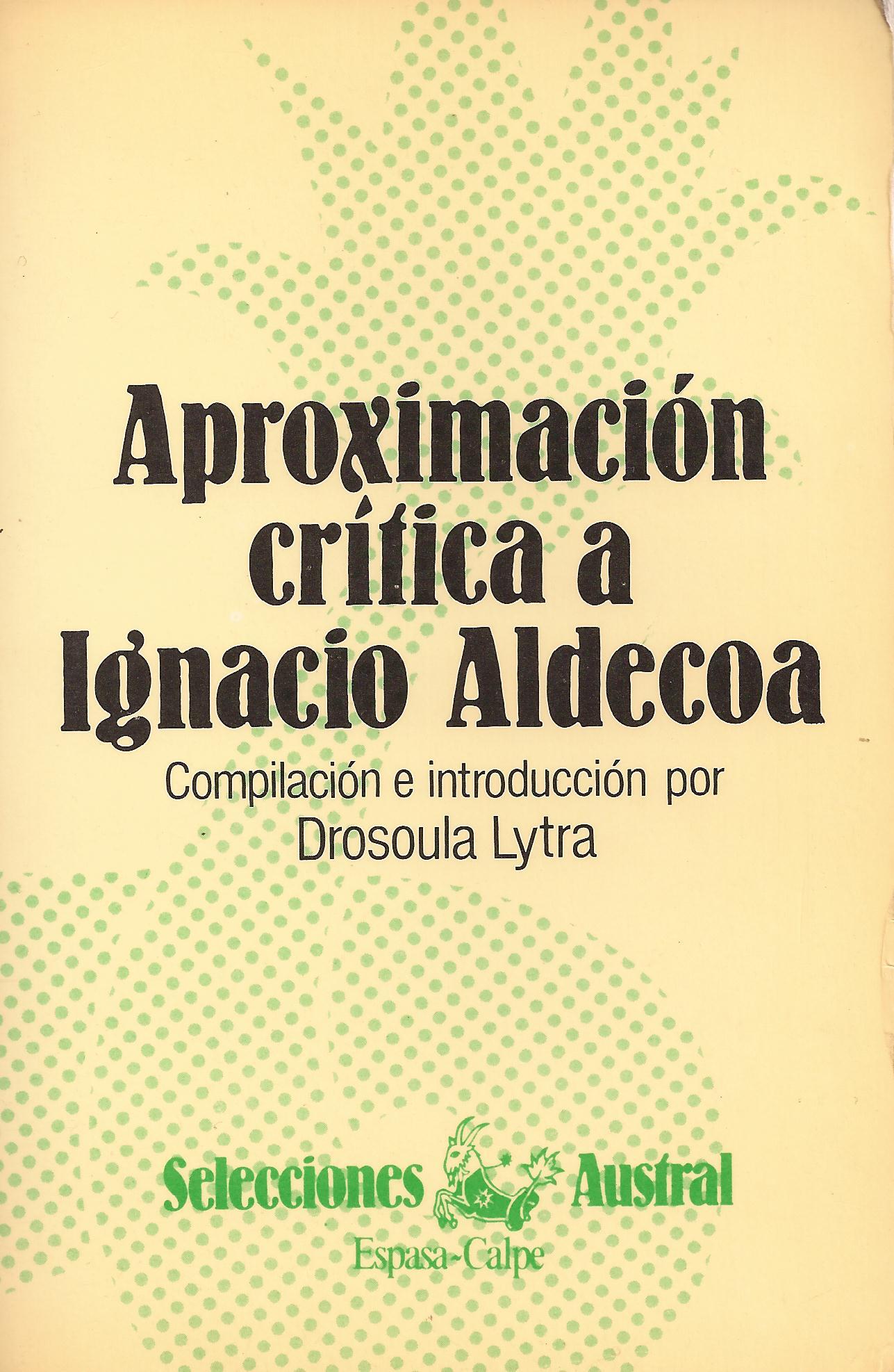 Aproximación crítica a Ignacio Aldecoa