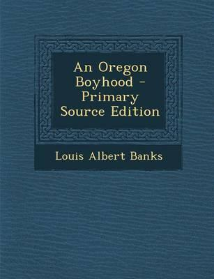 An Oregon Boyhood