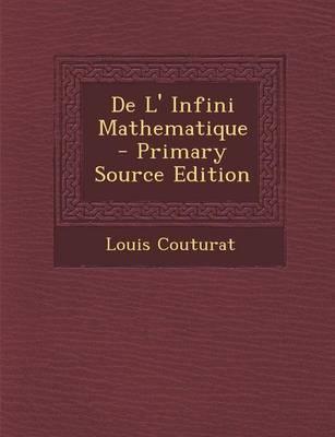 de L' Infini Mathematique