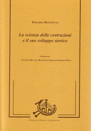 La scienza delle costruzioni e il suo sviluppo storico