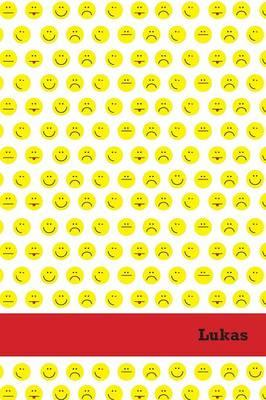 Etchbooks Lukas, Emoji, College Rule, 6 X 9', 100 Pages