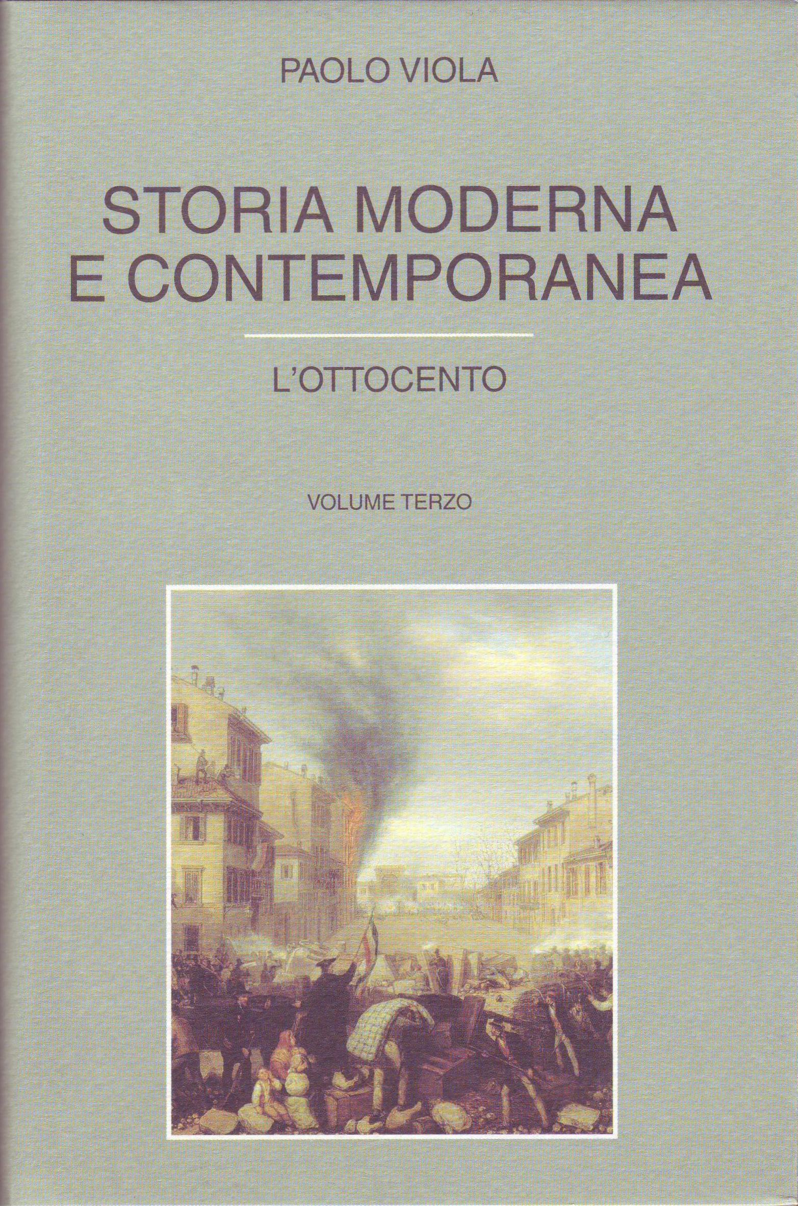 Storia Moderna e Contemporanea - Vol. 3