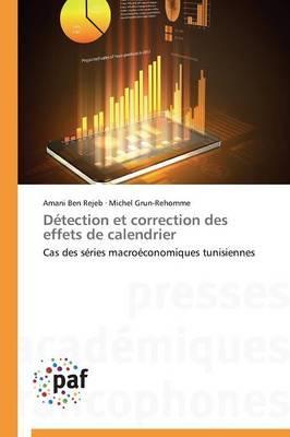 Detection et Correction des Effets de Calendrier