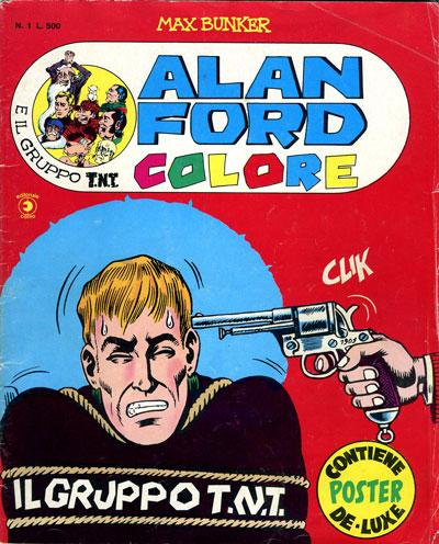 Alan Ford colore e il Gruppo T.N.T. n.1