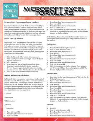 Microsoft Excel Form...