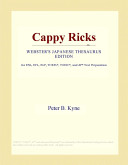 Cappy Ricks (Webster...