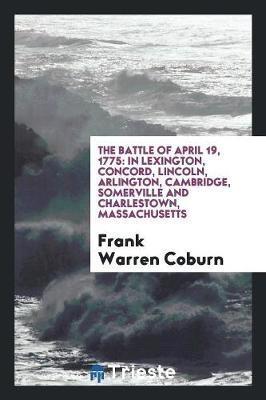 The Battle of April 19, 1775