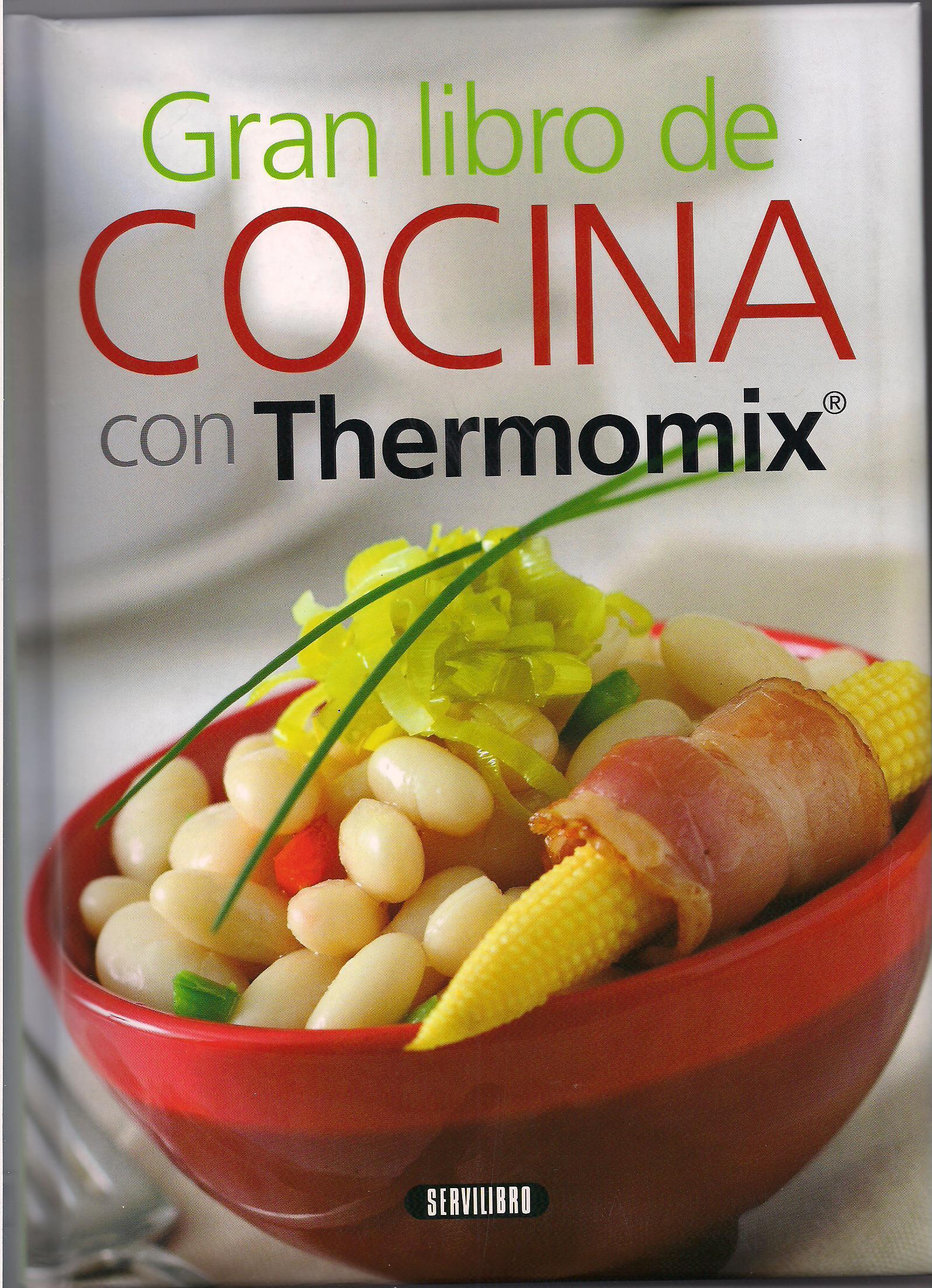 Gran libro de la cocina con Thermomix