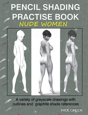Pencil Shading Practise Book Nude Women
