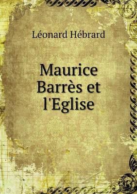 Maurice Barrès et l'Église