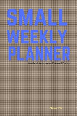 Doughnut Small Weekly Planner