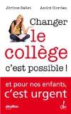 Changer le collège c'est possible!