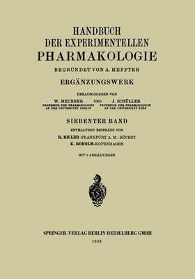 Handbuch Der Experimentellen Pharmakologie
