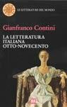 La letteratura italiana Otto-Novecento