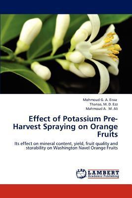 Effect of Potassium Pre-Harvest Spraying on Orange Fruits