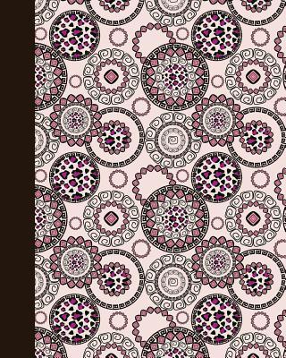 Sketch Journal Animal Print Mandala Rose and Pink