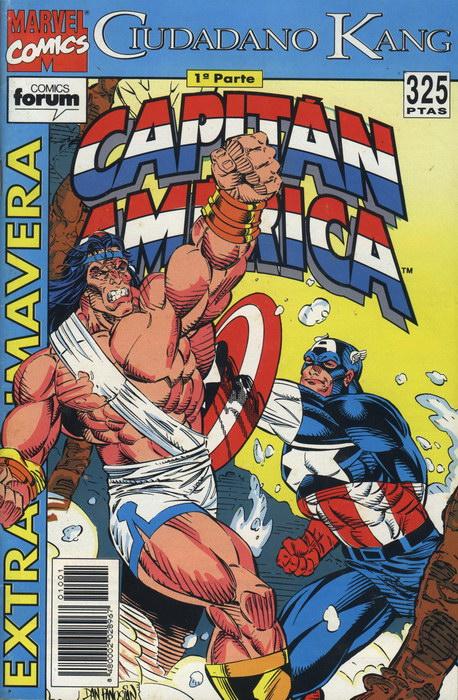 Capitán América Extra Primavera 1993