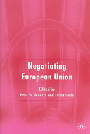 Negotiating European Union