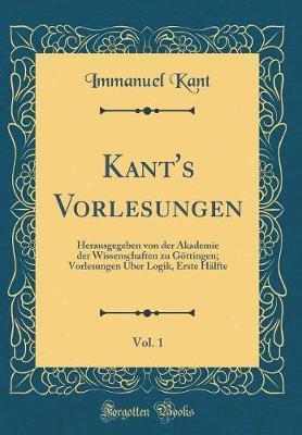 Kant's Vorlesungen, ...