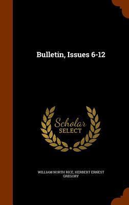 Bulletin, Issues 6-12