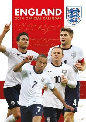 ENGLAND FOOTBALL 2014  CALENDAR