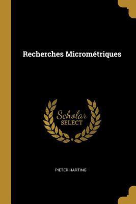 Recherches Micrométriques