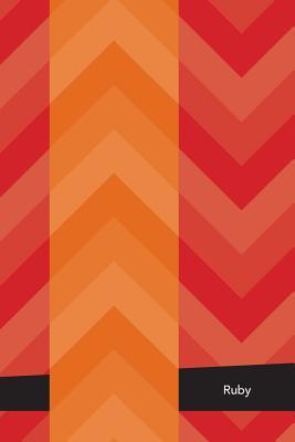 Etchbooks Ruby, Chevron, Graph