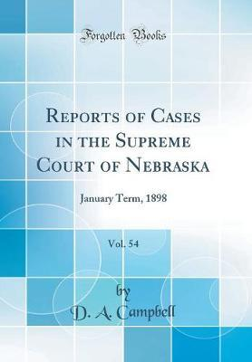 Reports of Cases in ...