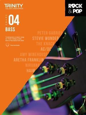 Trinity College London Rock & Pop 2018 Bass Grade 4