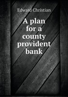 A Plan for a County ...