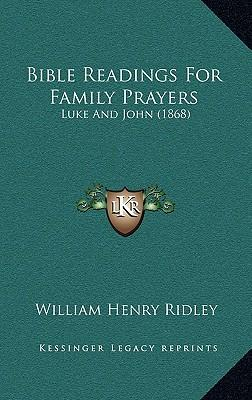 Bible Readings for Family Prayers