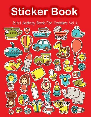 Sticker Book 2-in-1 Activity Book for Toddlers
