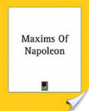Maxims of Napoleon