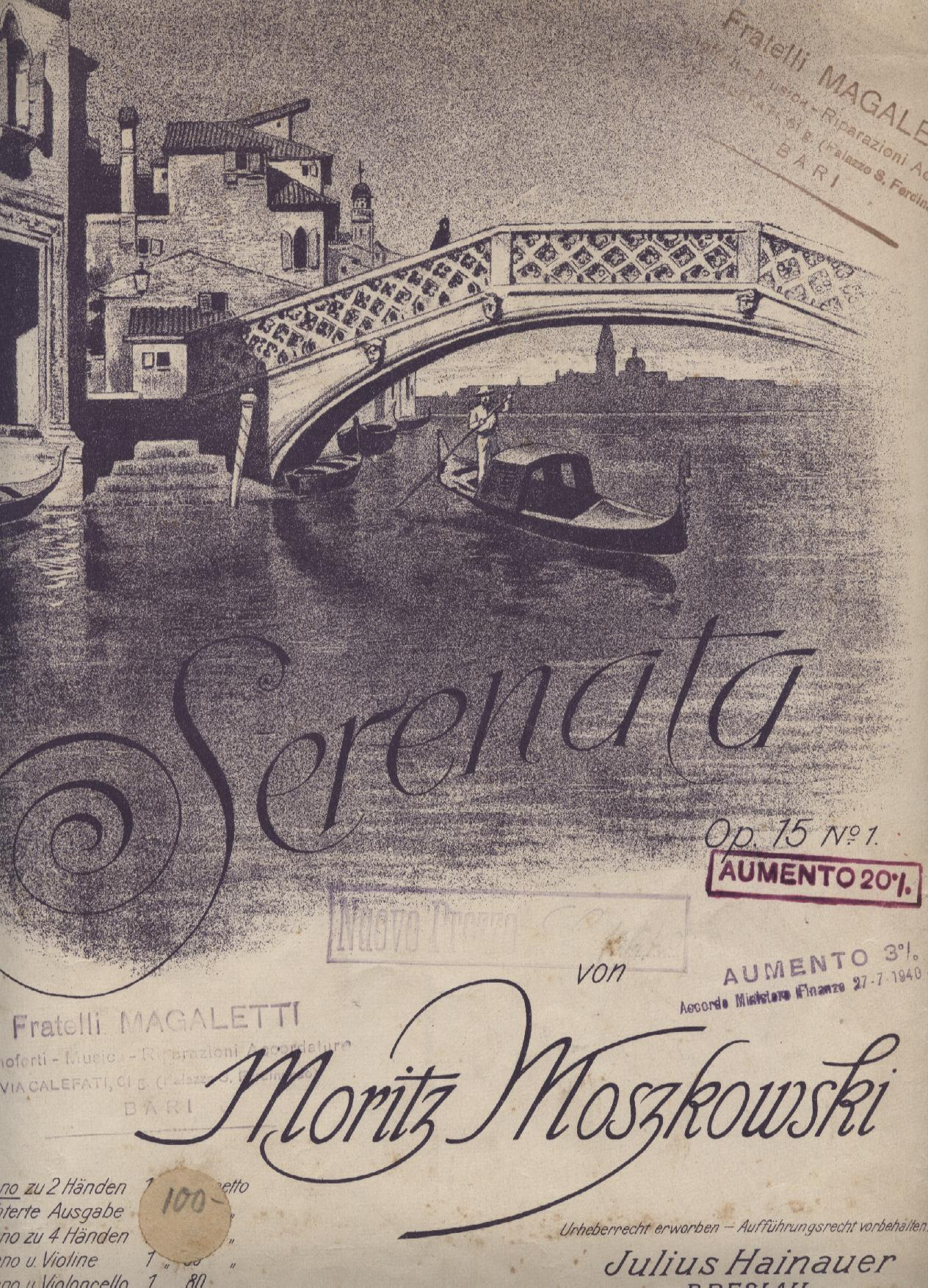 Serenata, op.15 n.1
