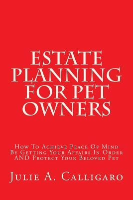 Estate Planning for Pet Owners
