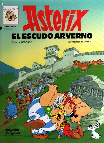 Asterix y el escudo ...