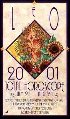 Leo 2001 Total Horoscope