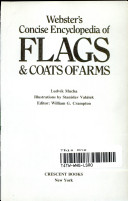 Webster's concise encyclopedia of flags and coats of arms