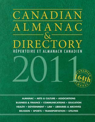 Canadian Almanac & Directory 2011