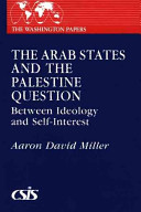 The Arab states and the Palestine question