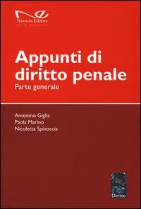 Appunti di diritto penale. Parte generale