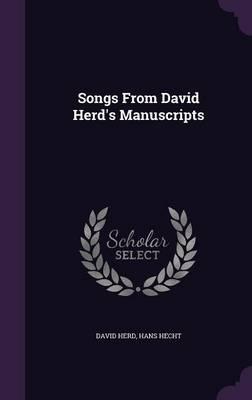 Songs from David Herd's Manuscripts