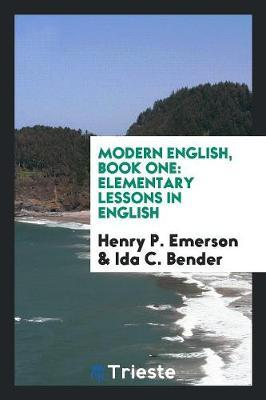 Modern English, Book One